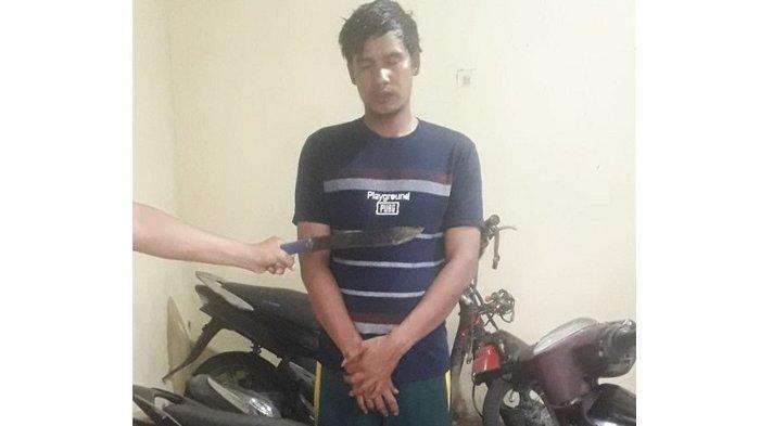 Putuskan Jari Temannya saat Cekcok Soal Motor Rusak, Warga Langkat Ini Ditangkap Polisi
