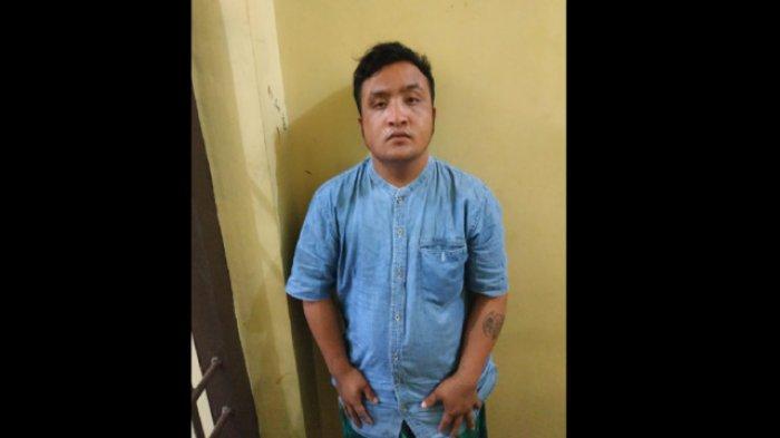 Buronan Kasus Pencabulan Anak  1,5 Tahun di Sergai Serahkan Diri ke Kantor Polisi