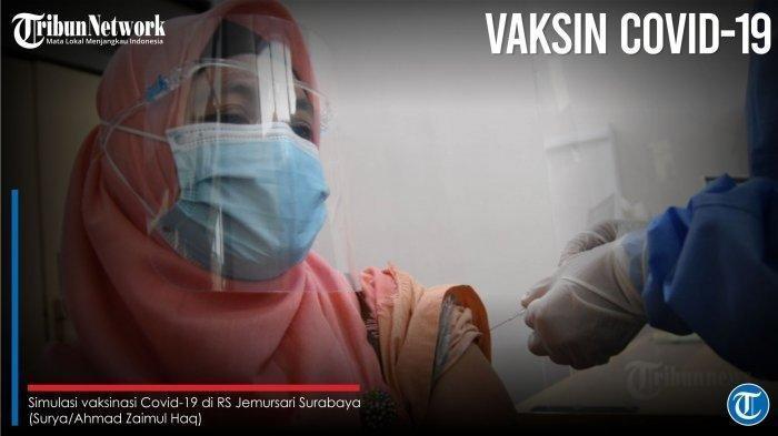 BERITA VAKSIN Corona - Efek Samping Vaksin Corona Sinovac Bisa Demam, Jangan Takut tak Berbahaya