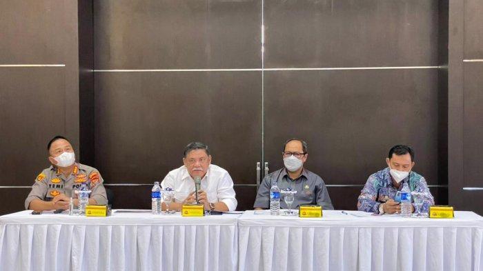 Wabup Bersama Kapolresta Deli Serdang Imbau Kades dan Pelaku Usaha Patuhi Instruksi Gubernur Sumut
