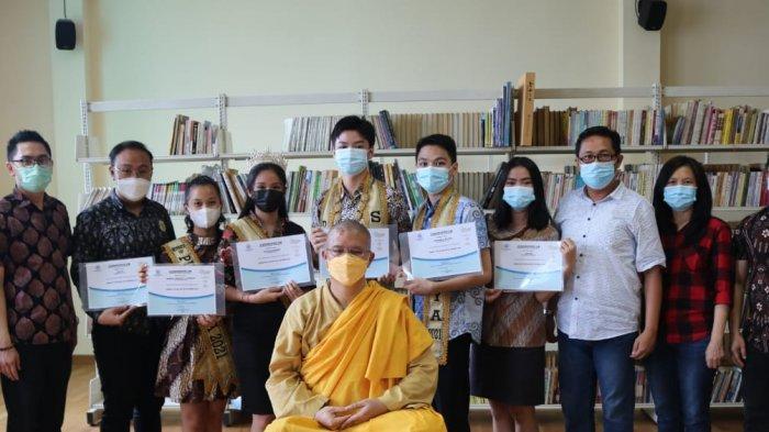Bintang Duta Buddhis 2021 MBI Medan Ikuti Dhamma Day Bersama Y.M. Bhiksu Nyanaprathama Mahasthavira