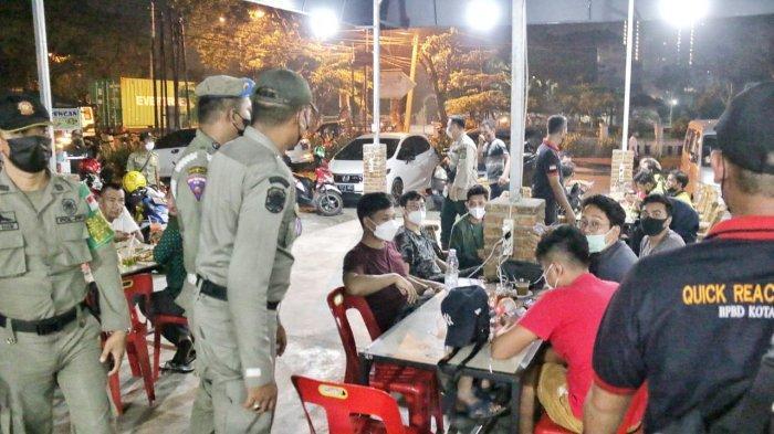 Pemko Medan Kembali Menertibkan Cafe yang Melanggar PPKM Mikro