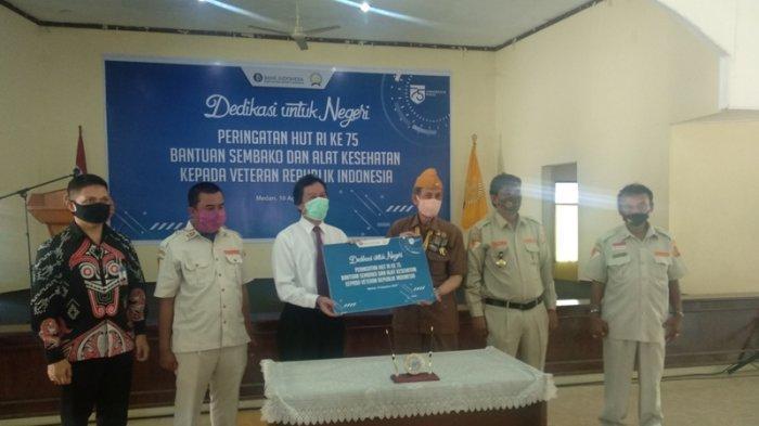 Peringati HUT RI, Bank Indonesia Sumut Bagikan 330 Paket Sembako dan Alat Kesehatan