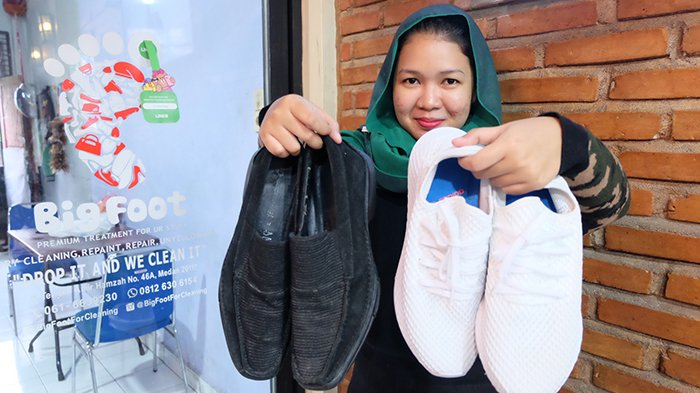 Big Foot Hadirkan Layanan Perawatan untuk Beragam Jenis Sepatu