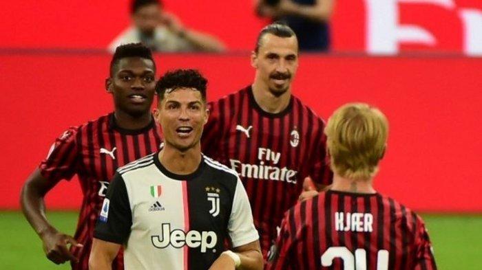 Sesaat Lagi Streaming Nonton Online AC Milan vs Juventus, Kick Off 02.45, Ronaldo dan Dybala Main!