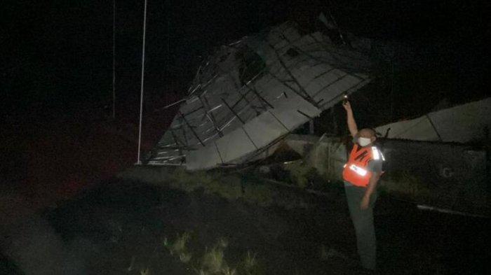 Puluhan Atap Rumah di Binjai Utara Copot Dibawa Terbang Puting Beliung