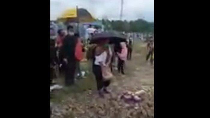 ISAK Tangis Anak dan Istri Birgaldo Sinaga, Jenazah Sang Pegiat Media Sosial Langsung Dimakamkan