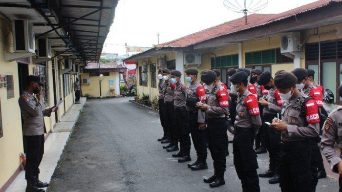 100 Orang Polisi dari Polda Ikut Tracing Covid-19 di Siantar, Ini Tugas Mereka!