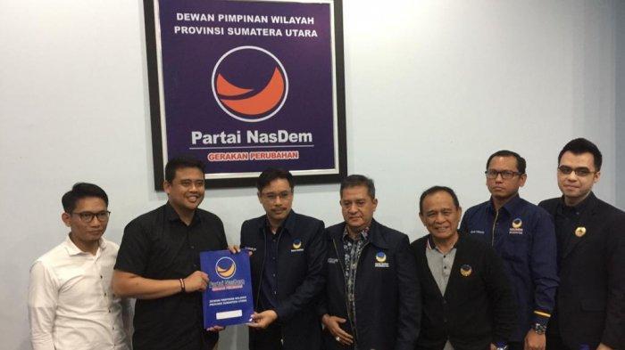 Partai Nasdem Klaim Menantu Jokowi Sudah Masuk Radar Jadi Calon Wali Kota Medan