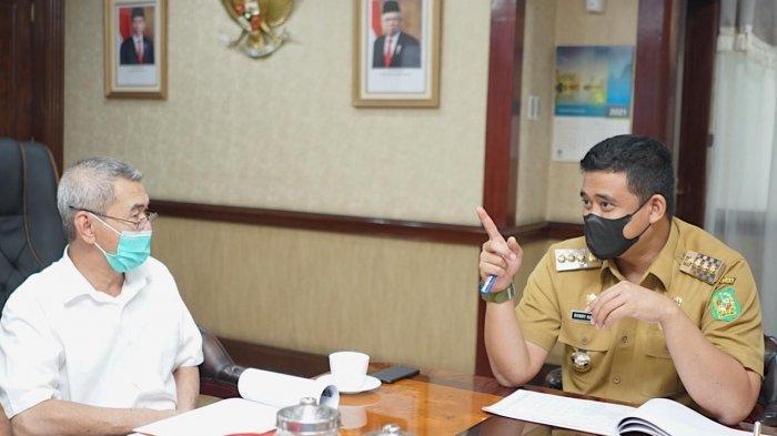 Bertemu BWS Sumatera II, Walkot Bobby Singgung Masalah Banjir di Medan