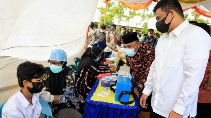 Bobby Nasution Minta Target Vaksinasi Covid-19 Tercapai, Sekolah Tatap Muka Segera Digelar