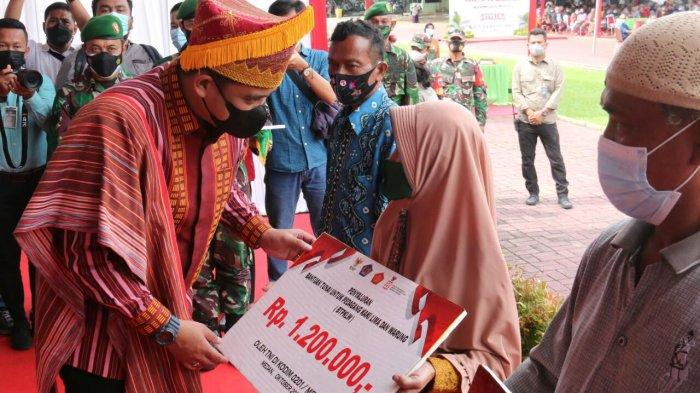 Bobby Nasution Apresiasi Bantuan Tunai untuk Pedagang Kaki Lima dan Warung yang Disalurkan Kodim