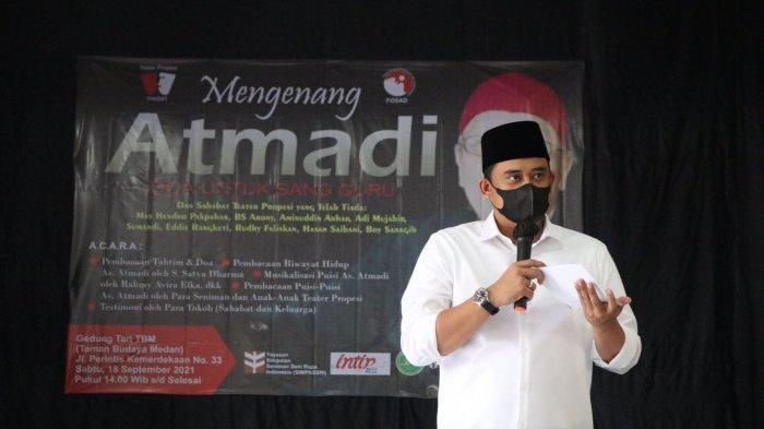 Bobby Nasution Apresiasi Peran As Atmadi Dalam Dunia Seni dan Kewartawanan
