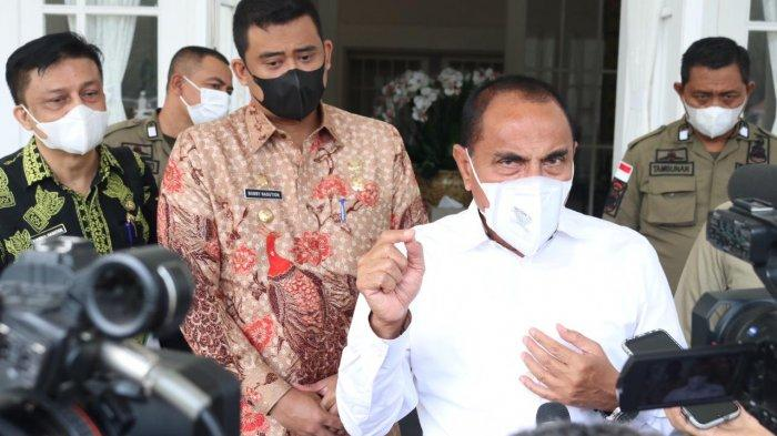 CATAT Kota Medan Berada di Level 3 Krisis Covid-19, Begini Komentar Edy Rahmayadi