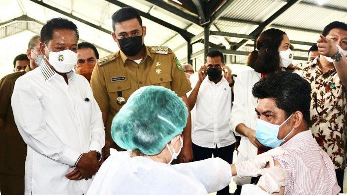 Vaksinasi Drive-thru Bagi Lansia dan Pendampingnya di Medan, Yuk Simak Tempat dan Syaratnya