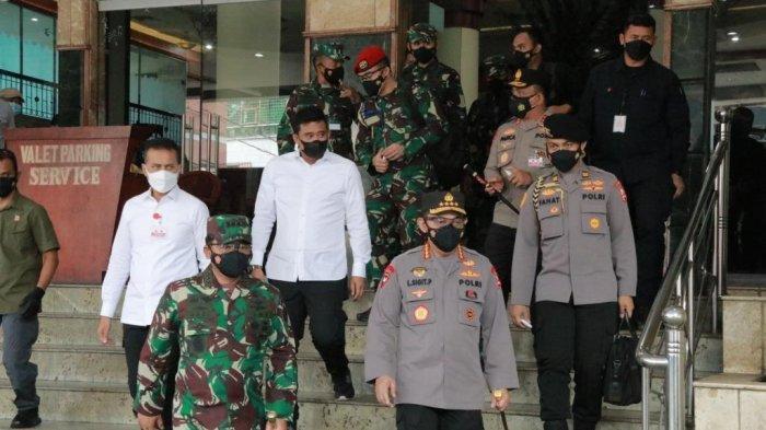 Bobby Nasution Ajak Dua Pejabat Ini Melihat Tempat Isoter Eks Hotel Soechi Medan