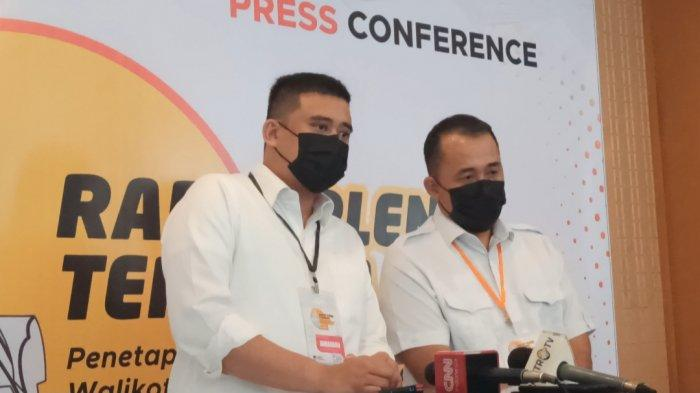 Bobby-Aulia Tak Hadir di Paripurna Pengusulan Pengangkatan Wali Kota dan Wakil Wali Kota Medan