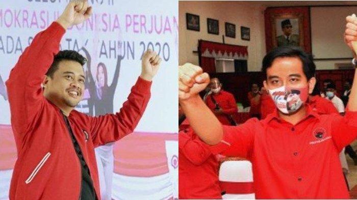 Bobby Nasution dan Gibran Rakabuming Raka. Diketahui, baik Gibran maupun Bobby sama-sama berlatar belakang pengusaha sukses sebelum resmi menjadi wali kota, berikut laporan harta mereka. (Instagram/@bobbynst/Istimewa)