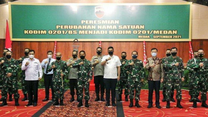 Wali Kota Medan Bobby Nasution Hadiri Perubahan Nama Satuan Kodim, Berikut Harapannya