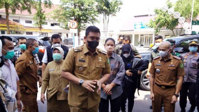 Didatangi Wali Kota Bobby Nasution, THR Pegawai PD Pasar Cair Hari Ini