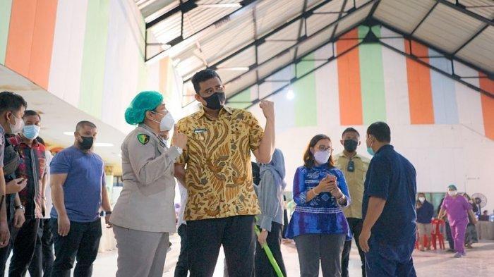 Vaksinasi Massal Covid-19 Terus Dikebut Pemko Medan, Bobby Nasution Fokus Penanganan Pandemi