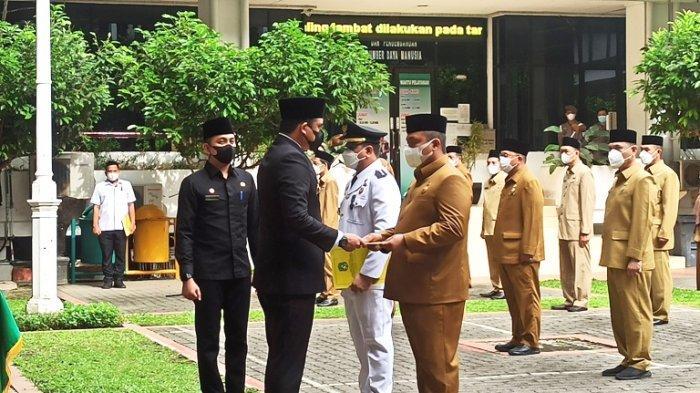BREAKING NEWS Perdana, Wali Kota Bobby Nasution Lantik 77 Pejabat Eselon III dan IV Pemko Medan