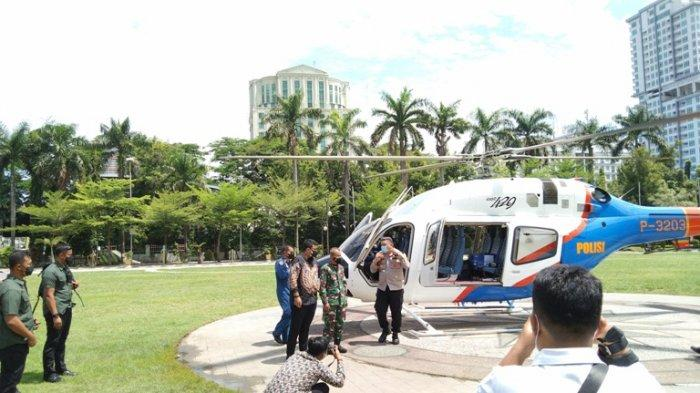 Ini Kata Bobby Nasution Setelah Keliling Naik Helikopter Bareng Kapolrestabes Pantau PPKM Darurat