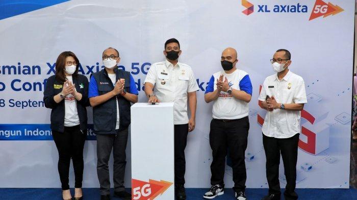 Bobby Nasution Luncurkan Jaringan: Mudahan-mudahan Jaringan 5 G Ini Menjangkau Seluruh Kota Medan