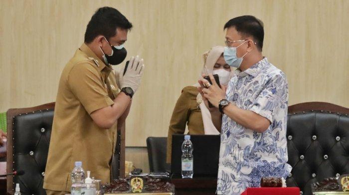 Pengin Menata Keindahan Kota Medan, Bobby Nasution Sampaikan Nota Pengantar Ranperda Zonasi PKL