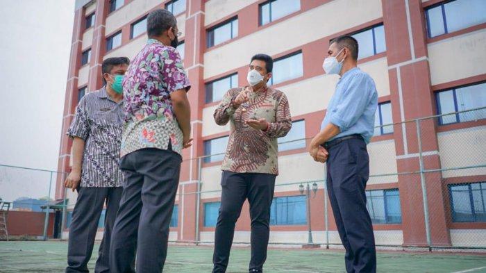 INILAH Ragam Fasilitas Isoman di Eks Hotel Soechi Medan