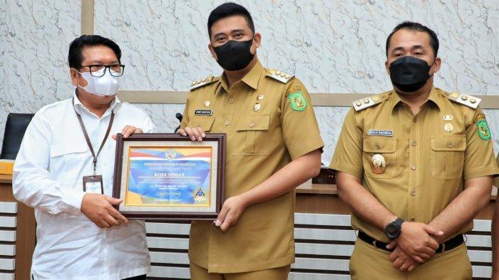 Kementerian Keuangan Beri Penghargaan WTP untuk Pemko Medan, Bobby: Pengelolaan Aset Harus Dijaga