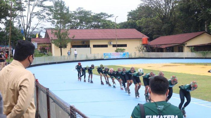 Wali Kota Medan Didampingi Topan Ginting Semangati Atlet Medan yang Akan Berlaga di PON