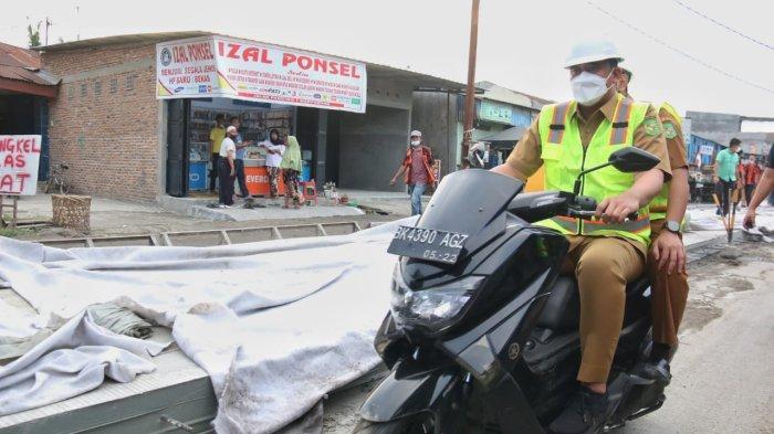 Bukan Sekadar Janji, Infrastruktur Kota Medan Mulai Banyak Dibenahi Bobby Nasution