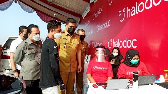 Hari Ini 3.000 Lansia dan Pendamping Bersiap Vaksinasi Drive Thru, Dipastikan Bakal Bertambah