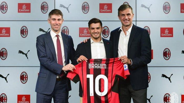 LIGA ITALIA - Bertahan di AC Milan Pakai Nomor 10, Brahim Diaz Jadi Punya Tanggungjawab Cetak Gol