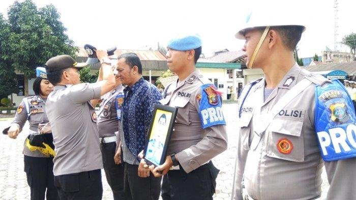 Brigadir Deri Brahmana Lemas Diberhentikan Tidak Hormat dari Personel Polri