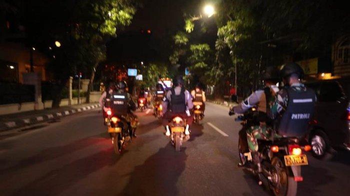 Amankan Malam Takbiran, Brimob Polda Sumut Lakukan Patroli Berskala Besar