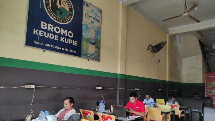 Bromo Keude Kupie, Tempat Nongkrong Tawarkan Kopi Khas Ulee Kareng dan Gayo