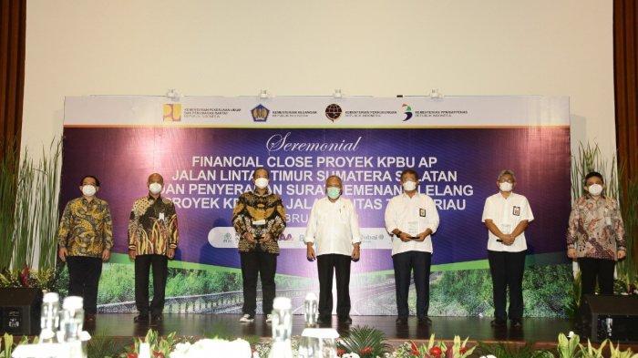 Bank Syariah Indonesia Pimpin Sindikasi Proyek Preservasi Jalintim Sumatera Senilai Rp 644 Miliar