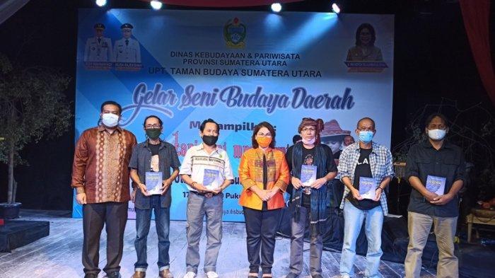 Berkarya di Masa Pandemi, Sastrawan Sumut Luncurkan Buku Antologi Sastra di Taman Budaya Sumut