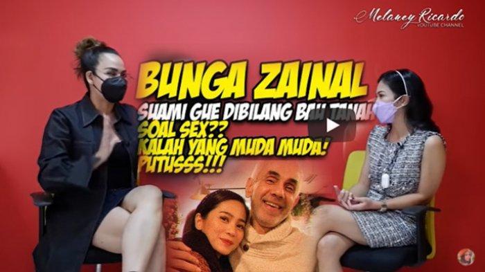 Kepada Melaney Ricardo, Bunga Zainal blak-blakan ungkap alasannya menikah dengan produser Sukhdev Singh pada tahun 2014.