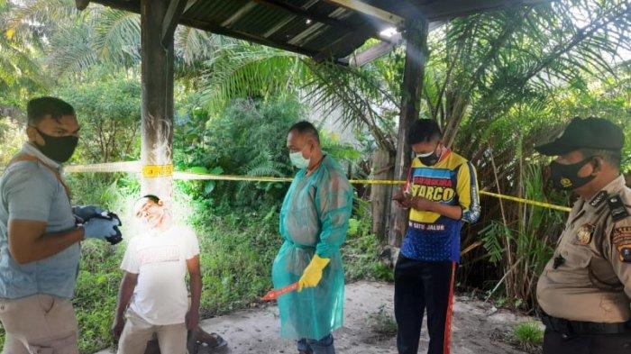 Dasril Nasution Ditemukan Tewas dengan Posisi Tergantung di Penyangga Tiang Bangunan