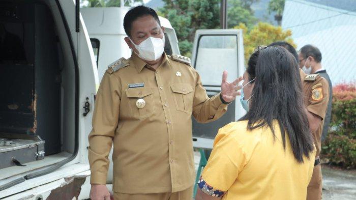Bupati Dairi Sidak ke Puskesmas Tigalingga, Eddy Berutu: Nakes Harus Disiplin dan Profesional