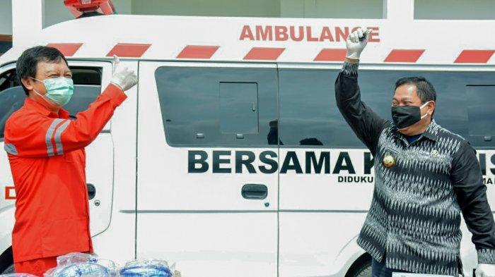 Perusahaan Tambang di Dairi Donasikan Ambulans dan APD untuk Penanganan Corona