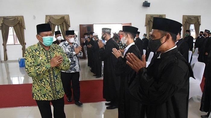 Lantik Dewan Hakim MTQ Ke-54 Deli Serdang, Ashari: Semoga Amanah dan Sukses