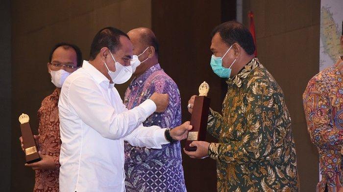 Terima Penghargaan PPD 2021, Pemkab Deli Serdang Upayakan Perencanaan Pembangunan sesuai Amanat