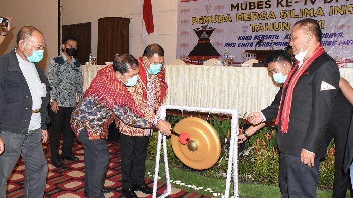 Buka Mubes DPP PMS Ke-IV, Bupati Ashari Ajak Pengurus Hadir di Tengah Masyarakat