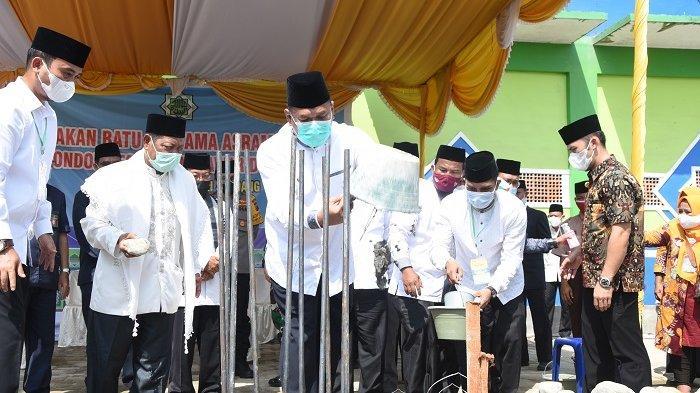 Bupati Ashari Sebut Pembangunan Ponpes Mawaridussalam Sejalan dengan Visi Deli Serdang yang Religius