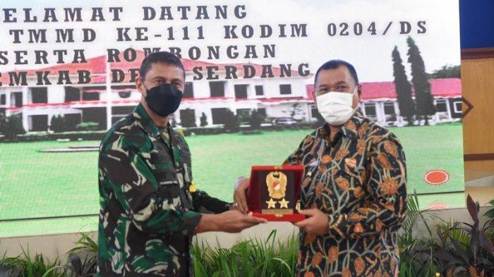 Ashari Tambunan  Terima Kunjungan Tim Wasev, Ucap Terima Kasih kepada Personel TNI