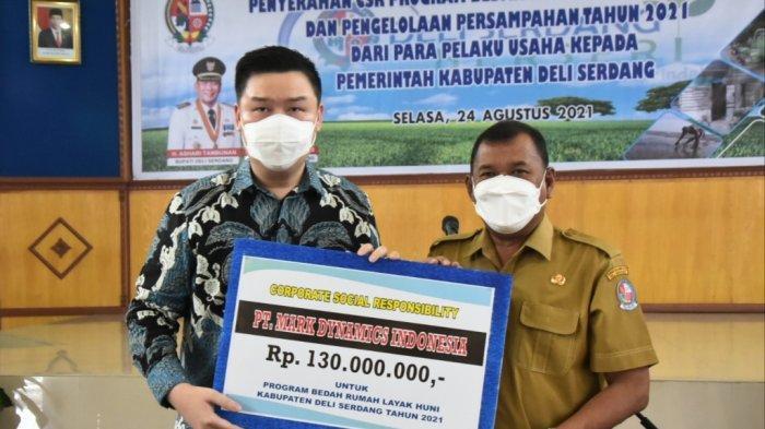Bupati Deliserdang Terima CSR 29 Perusahaan, Membantu Warga yang Sedang Kesulitan